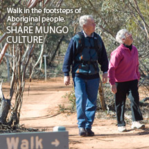 Walk in the footsteps of aboriginal people