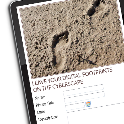 Leave your digital footprints on the Mungo cyberscape