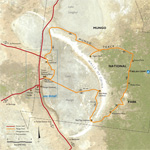 Mungo National Park map