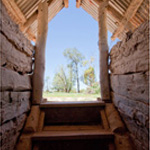 Dugout at Zanci homestead. Photograph © Ian Brown